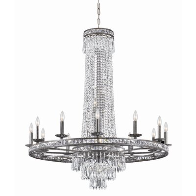 Traditional Classic 16 Light Majestic Series Crystal Chandelier