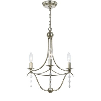 Metro 3 Light Mini Chandelier