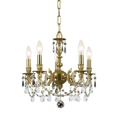 Crystorama Mirabella 5 Light Mini Chandelier