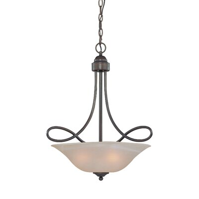 Jeremiah Cordova 3 Light Inverted Pendant