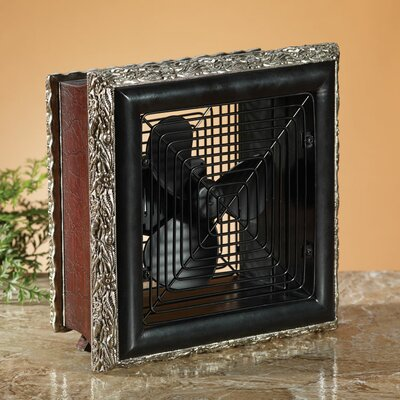 Wood Frame Volturi Decorative Table Top Fan