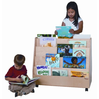 Wood Designs Double Sided Book Display