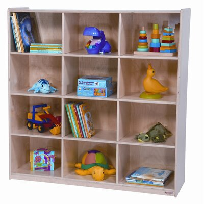Wood Designs Twelve Section Cubby Storage