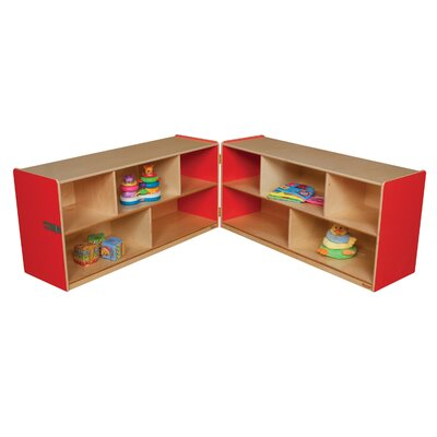 "Wood Designs 24"" Folding Storage Unit"