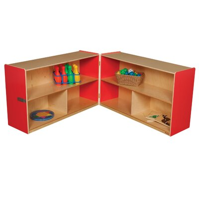 "Wood Designs 30"" Versatile Folding Storage Unit"
