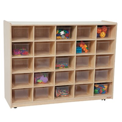 Wood Designs Twenty Five Tray Storage Unit