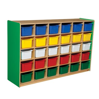 Wood Designs Thirty Tray Storage Unit