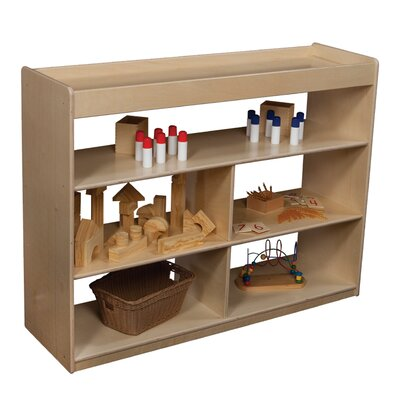 "Wood Designs Natural Environment 36"" Math/Language Cabinet"