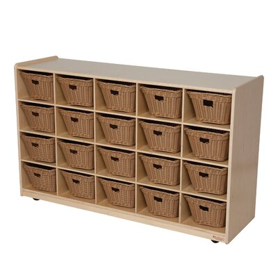 "Wood Designs Natural Environment 30"" Storage Unit"