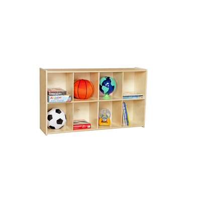 Wood Designs Contender 8 Cubby Knapsack Storage Unit