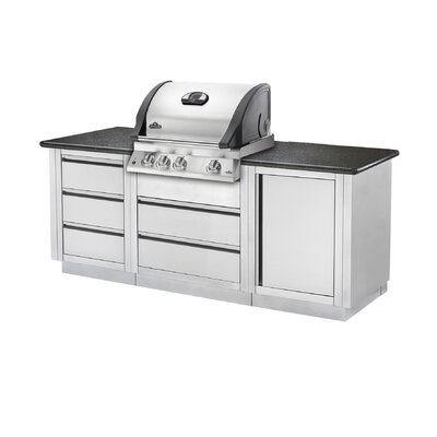 Napoleon Mirage Built-In Gas Grill with Rear Burner
