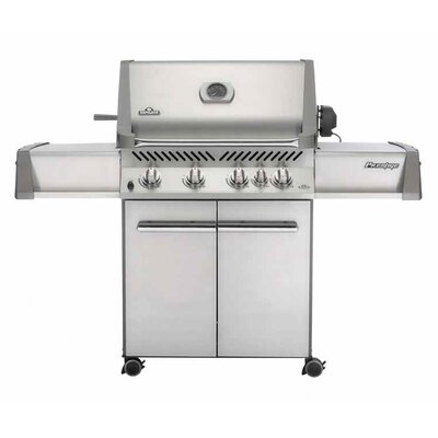 Napoleon Prestige I P500RB Gas Grill with Rear Burner and Doors