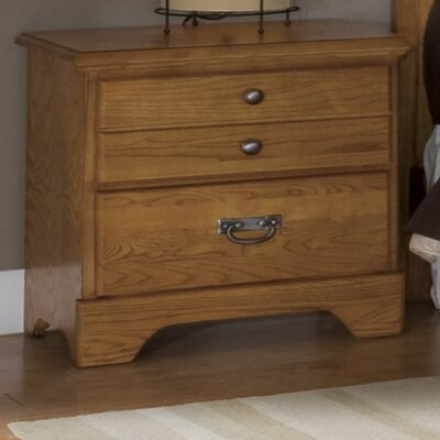 Creek Side 2 Drawer Nightstand