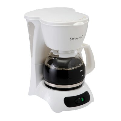 4 Cup Coffee Maker with Pause 'N Serve