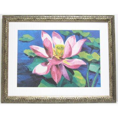 Alpine Art and Mirror Premier Water Lilly II Wall Art