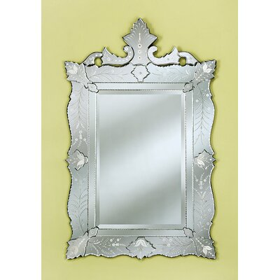 Venetian Gems Ruby Wall Mirror