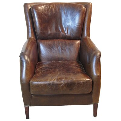 English Leather Chair