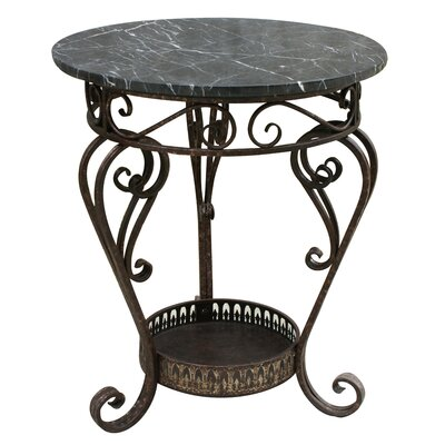 Coast to Coast Imports LLC Marble Top End Table