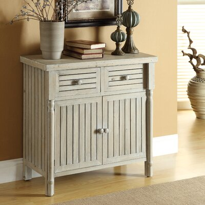 Coast to Coast Imports LLC Two Drawer Two Door Cabinet