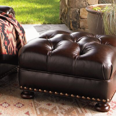 Lexington Elle Leather Ottoman