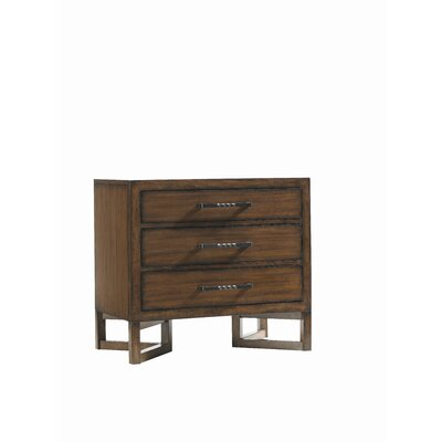 Lexington 11 South 3 Drawer Nightstand