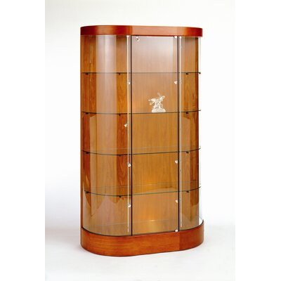 Tecno Display Curved Wall Display Case