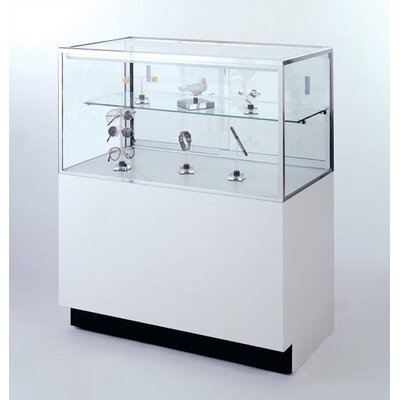 Tecno Display Half-Vision Jewelry Case with Standard Finishes