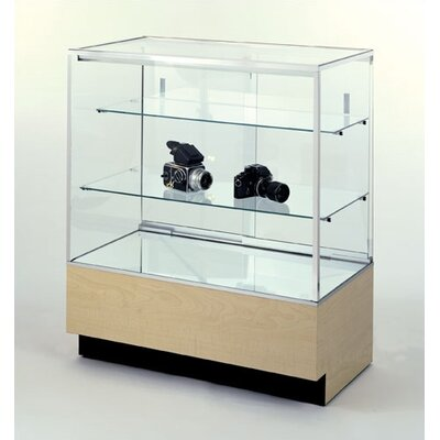 Tecno Display Full-Vision Jewelry Case with Standard Finishes