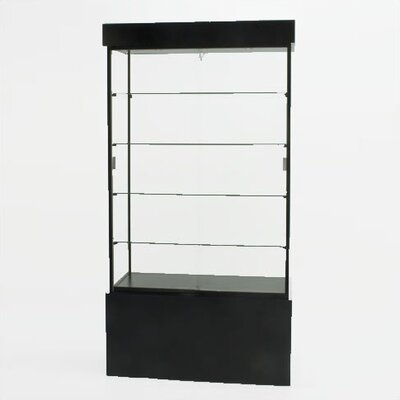 Tecno Display Displays 4 Less Rectangular Wall Showcase