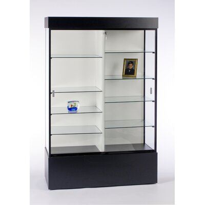 "Tecno Display 73"" Rectangular Wall Case with Divider"