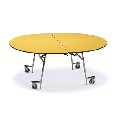 Midwest Folding Products 29&quot; x 72&quot; x 60&quot; Oval Mobile Table UnitZ