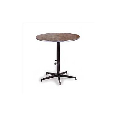 Midwest Folding Products Dual Height Cocktail Table with Plywood Top