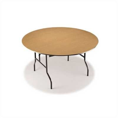 Midwest Folding Products 36&quot; Round Plywood Core Game/Cocktail Table
