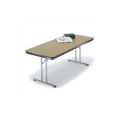 "Midwest Folding Products 30"" x 60"" Conference Designer Series Folding Table"