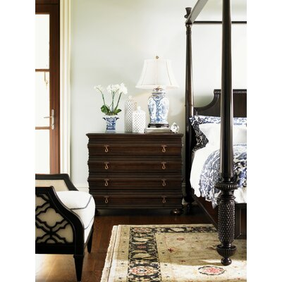 Tommy Bahama Home Royal Kahala Four Poster Bedroom Collection