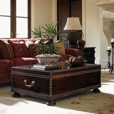 Tommy Bahama Home Royal Kahala Sunset Cay Trunk Coffee Table