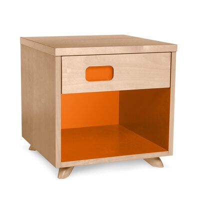 True Modern 1 Drawer Nightstand