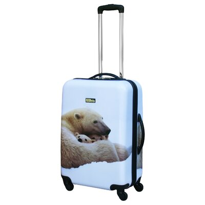 "National Geographic Explorer 24"" Hardsided Spinner Suitcase"
