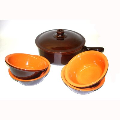 Piral Terracotta 6-Piece Cookware Set