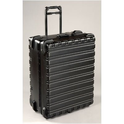 "Chicago Case Company ""Military-Ready"" XL Jumbo 3-Pallet Tool Case (with built-in cart): 12"" H x 28"" W x 22"" D"