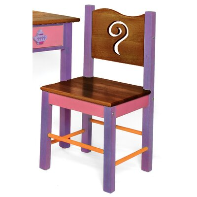 Room Magic Little Girl Teaset Desk Chair