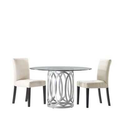 Allan Copley Designs Alchemy 5 Piece Round Dining Set