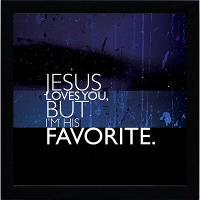Artistic Reflections Jesus Loves You Print Art