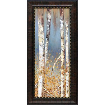 Butterscotch Birch Trees I Framed Art