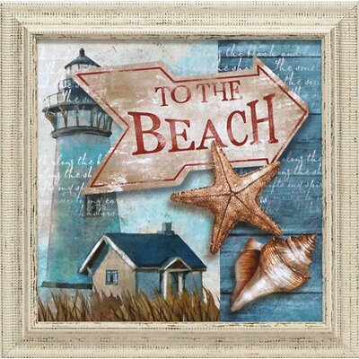 To the Beach Framed Art