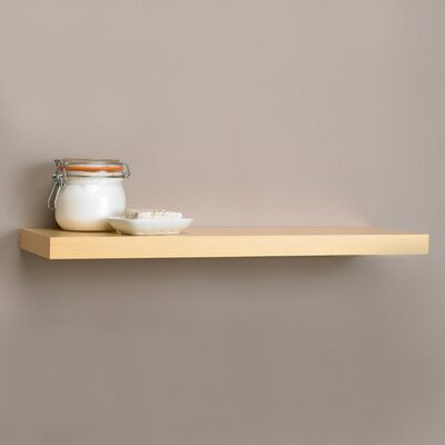 Square Edge Floating Shelf
