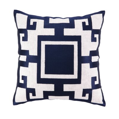 Kara Linen Embroidered Pillow