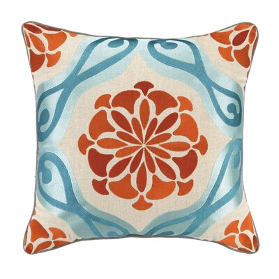 Bahir II Linen Embroidered Pillow