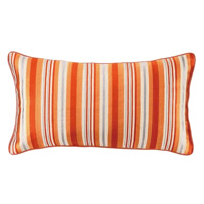 Bahir Oblong Linen Embroidered Pillow