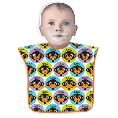 Jane Jenni Inc. Funky Monkey Bib